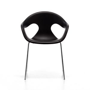 Sunny plastic 4L, Elegant chair, comfortable shell in polypropylene, stackable