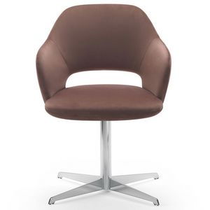 Vivian armchair, Armchair with swivel base