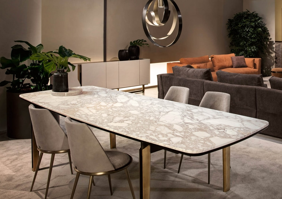 Mirage table, Elegant dining table