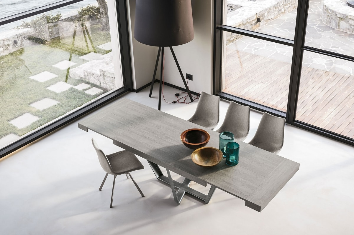 APOLLO 180 TA1C3, Extendable table with modern design
