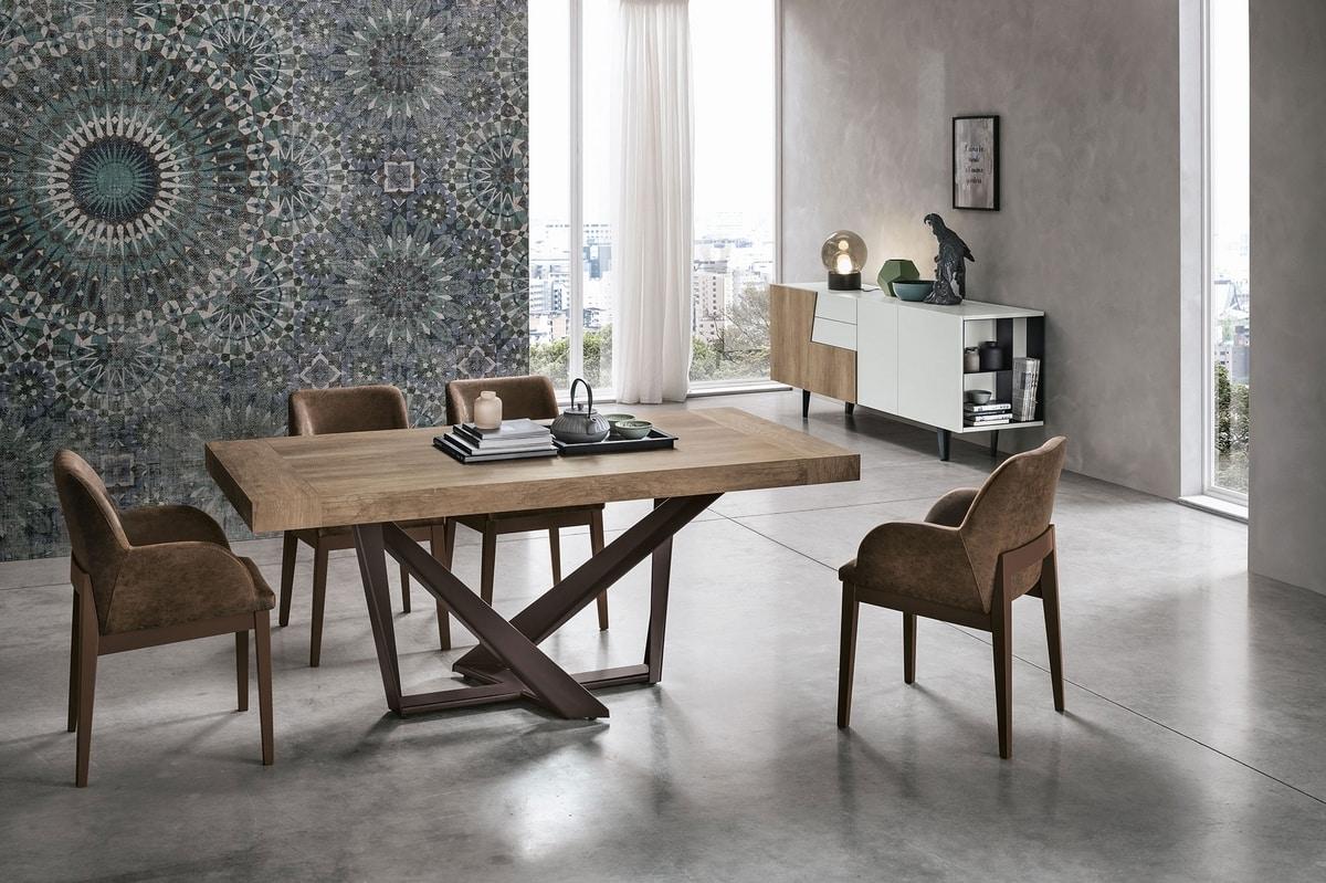 APOLLO 180 TA1C3, Extendable table with modern design