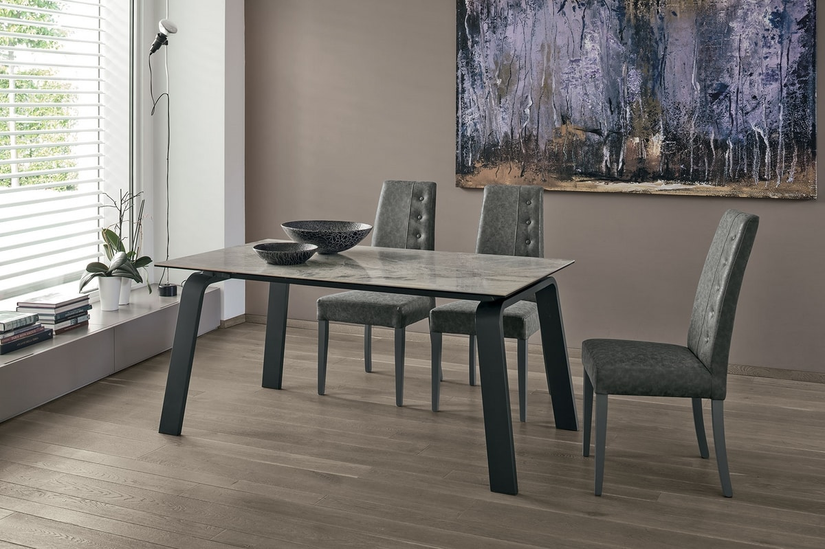 DEIMOS 110 TA1B7, Extendable table for kitchen and living room