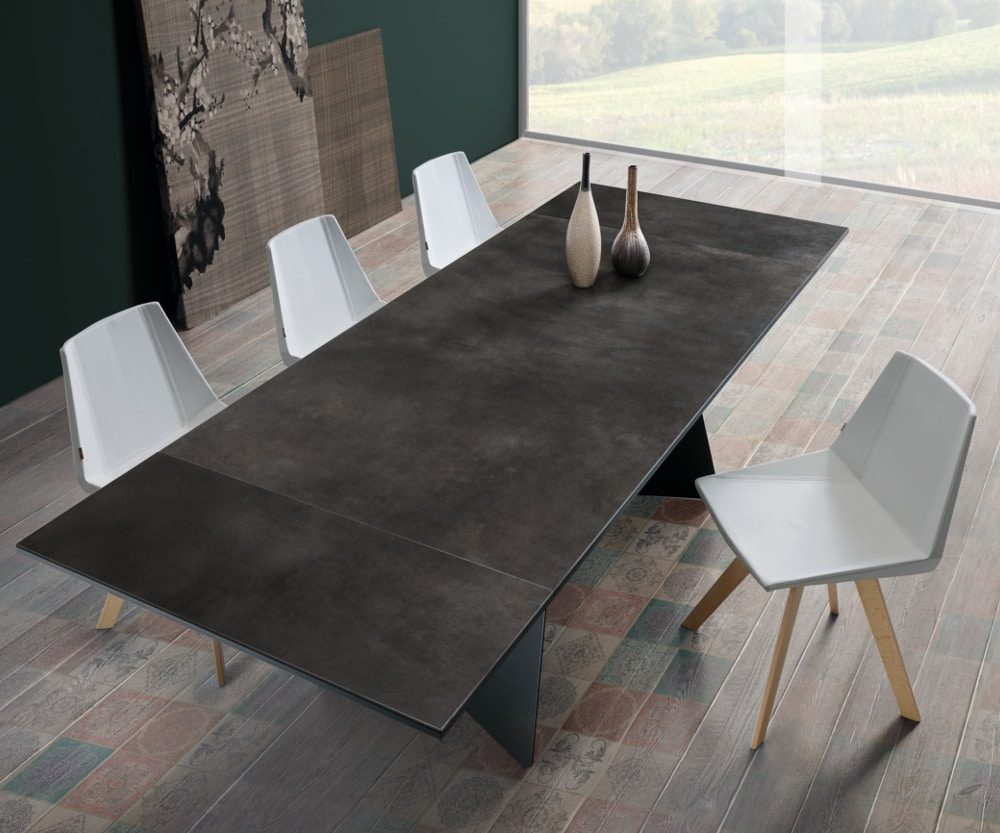 Koral, Modern and clean, extendable table