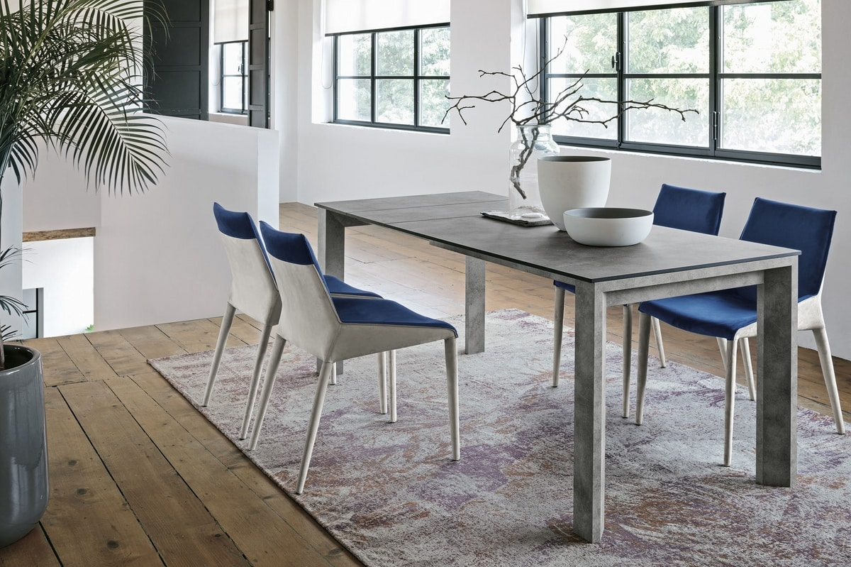 LYTHOS 130 TA513, Extendable dining table