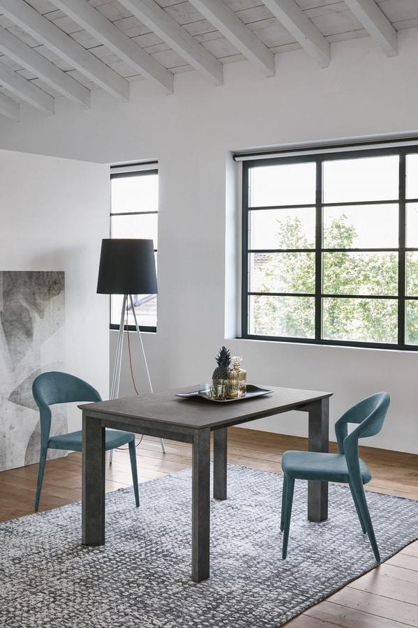 LYTHOS 130 TA513, Extendable dining table
