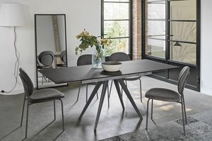 PROMETEO 130 TA1C7, Extendable dining table