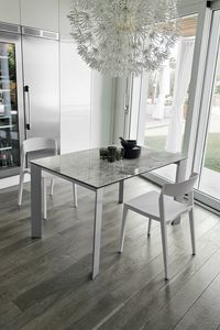 SATURNO 110 TA1B2, Modern extendable design table
