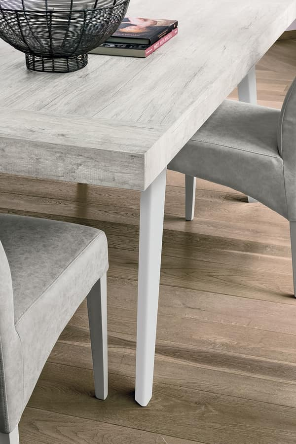 SCIROCCO TA1C0, Extending table with laminate top