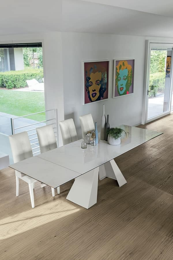 TAURUS TA1A2, Extending table with metal base