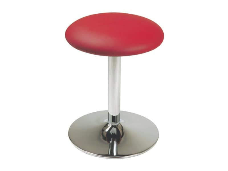 SG 034, Low stool with round seat, for shoe store