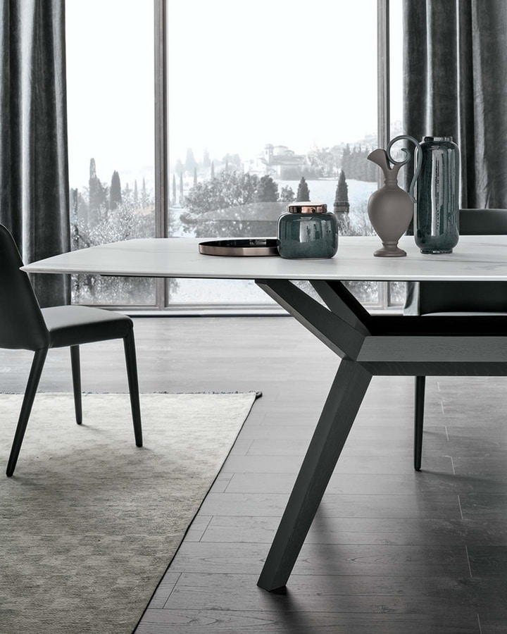 Avalon, Table with marble effect top