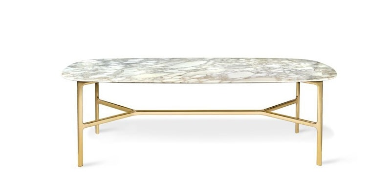 Coast Table, Table with marble top