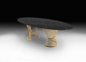 Gatsby, Table with marble top