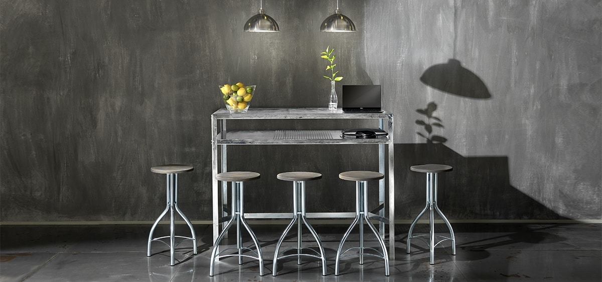 Hope/A, Metal table, for outdoor and indoor