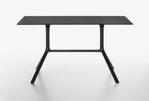 Miura mod. 9586-01 / 9587-01, Rectangular table with folding top