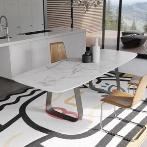 MUN marble, Table with marble top