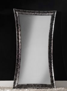 Art. 20501, Modern mirror with wood frame