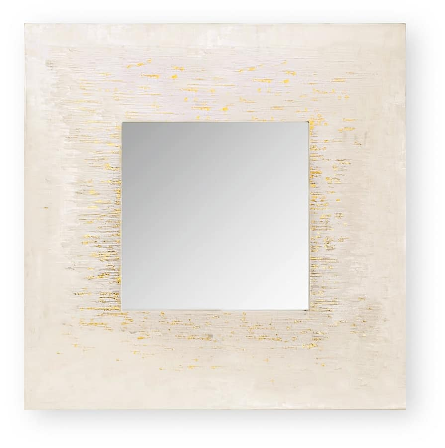 Africa Golden city, Mirror with pantographed decoration