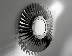 AIR-MIR0172, Mirror made with airplane parts