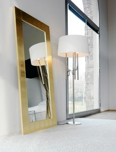 Alf 222, Mirror with gold or silver leaf frame