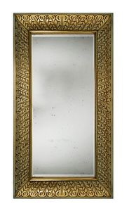 Archduke LU.0050, Outlet mirror, with handmade carvings