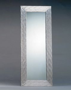 Art. 20303, Rectangular mirror with silver frame