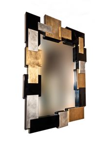 Art. 2904 Michelle, Mirror with special frame in four finishes