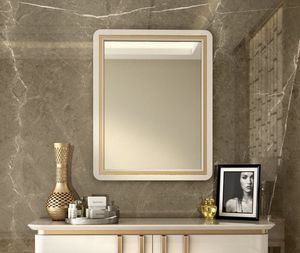 Art. 5612, Mirror with lacquered wood frame