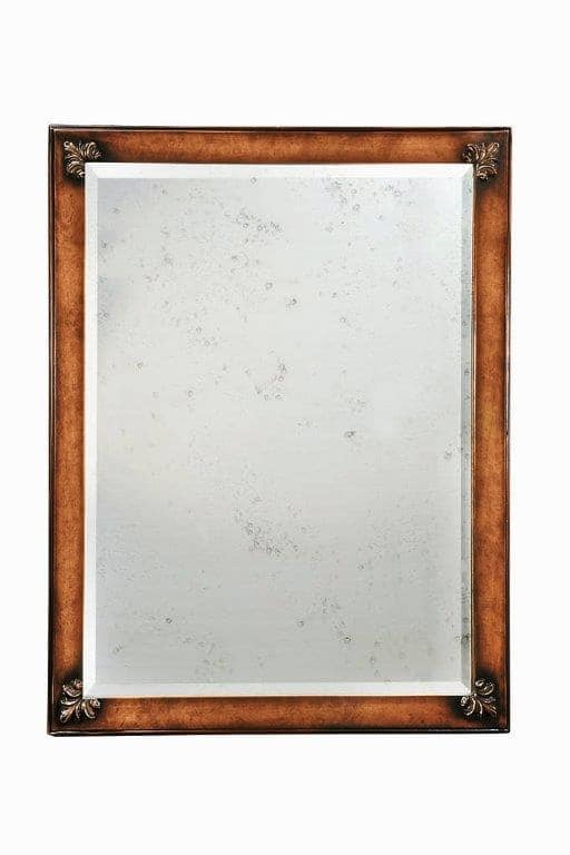Art. 710, Classic rectangular mirror for living rooms and hallways