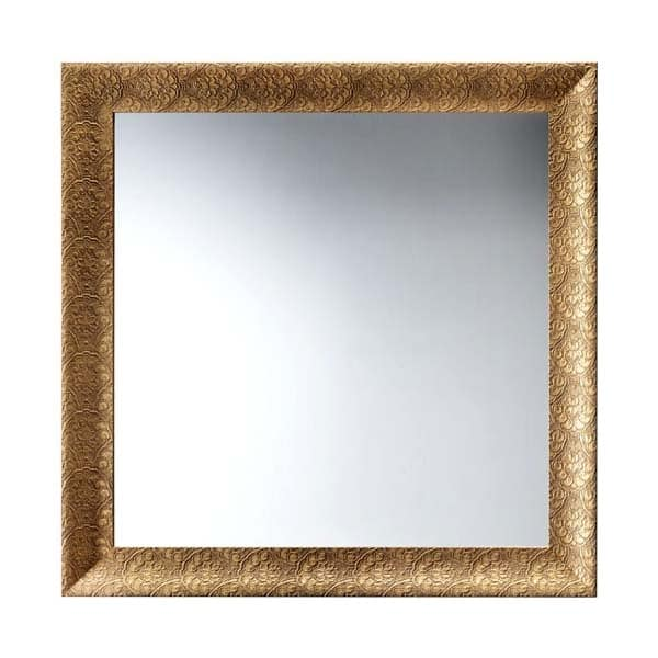 Art. AS357, Square mirror with frame, for restaurants