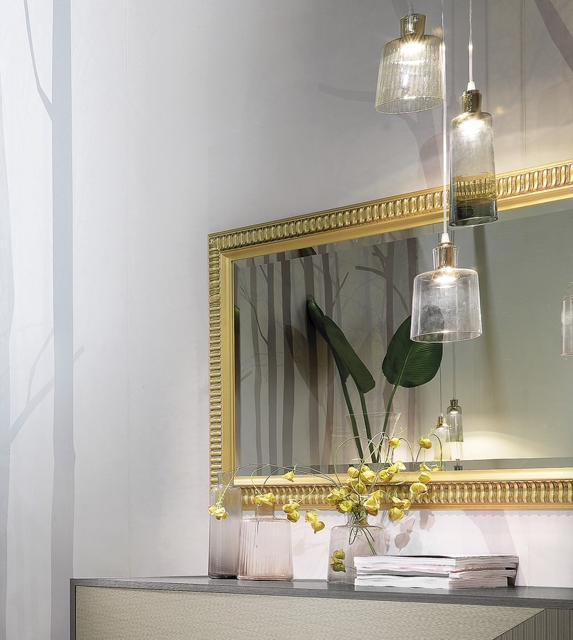 Art. NS00030, Lacquered mirror