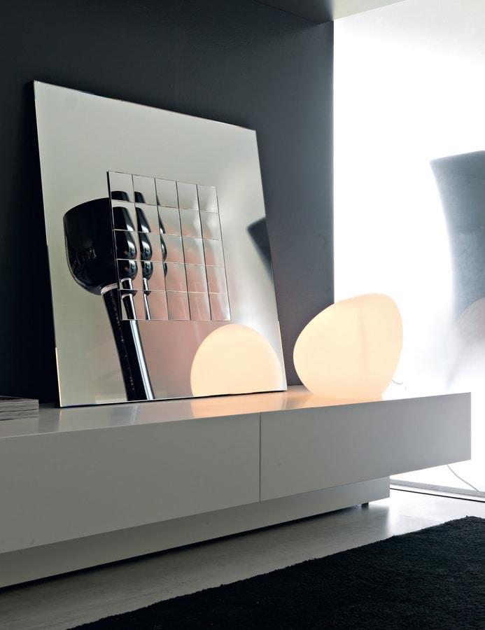 Boccaccio 364, Mirror with decorative mirrors