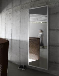 Box, Shoe rack mirror with minimal design aesthetic
