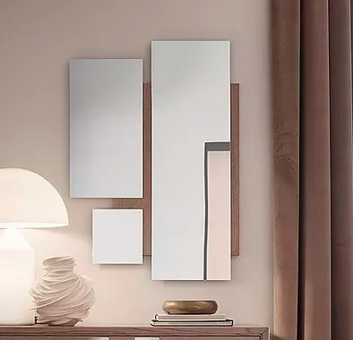 Break Up, Mirror with decomposed geometries