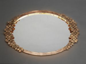 DAMA HF2019MI, Oval iron mirror