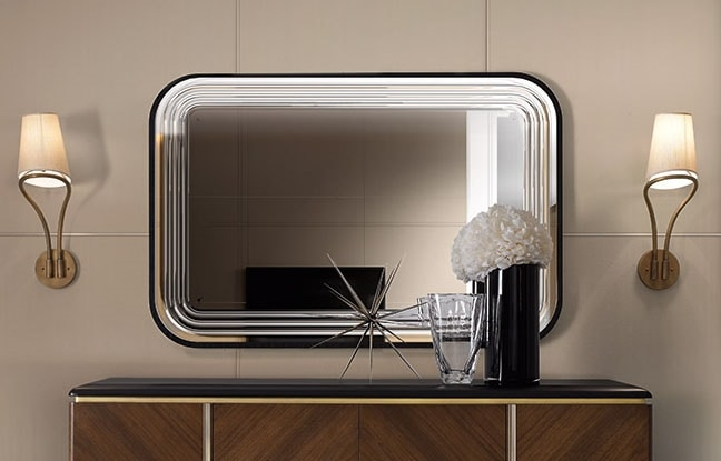 Dilan Art. D03/S, Mirror with rounded corners