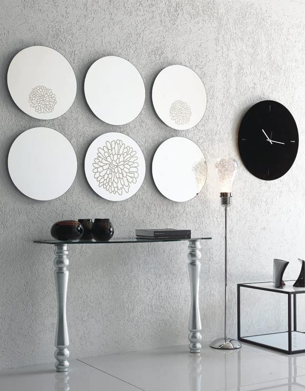dl200 marbella, Round mirror for modern living rrom