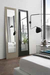 DORIAN SSC03, Rectangular mirror in tempered glass ideal