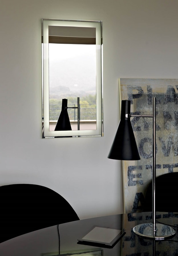 Elen E357, LED backlit mirror