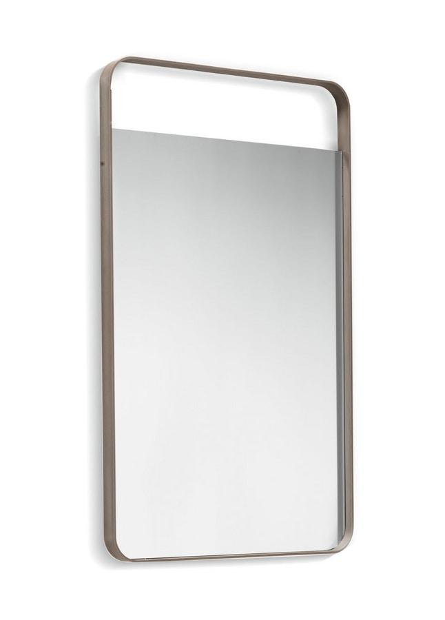 Elvis mirror, Rectangular mirror with aluminum frame