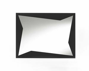 Flash, Decorative mirror with sheet metal inserts