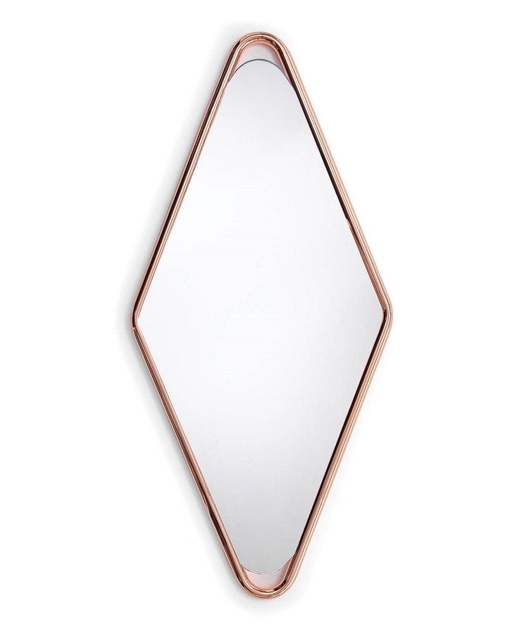 Frame D, Rhombus-shaped mirror