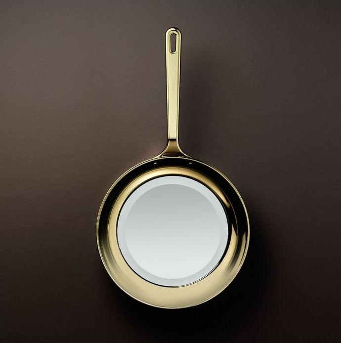 Frying Pan, Pan-shaped mirror