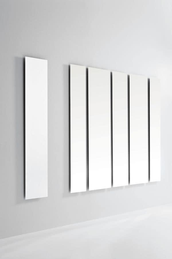 Geometrika rectangular, Rectangular mirrors, accessorised with perimeter LED lighting
