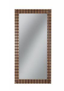 Gold rectangular mirror, Rectangular mirror with frame