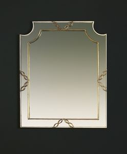 HF2006MI, Mirror with gold finish