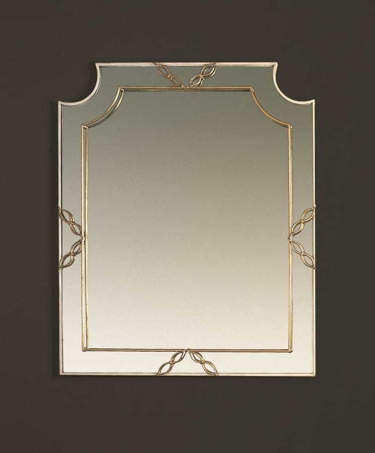 HF2006MI, Mirror with gold finish