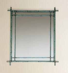 HF2011MI, Square mirror with frame