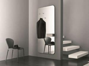 k195 hally, Mirror with storage ideal for the entry of the house