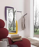 k198 visual, Mirror with back panel with LED lighting